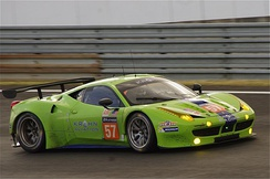 The Krohn Racing Ferrari 458 Italia GT2 at 24 Hours of Le Mans