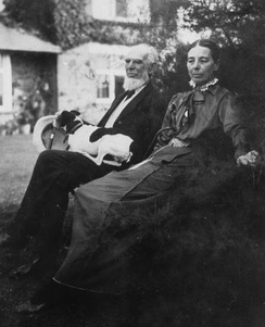 Lord and Lady Courtney in 1916