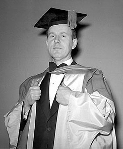Lester B. Pearson, Canadian Ambassador to the United States, at University of Toronto convocation, 1945