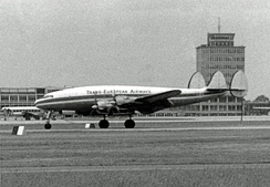 An L-049 of Trans European Airways.