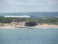 World War II bunkers at Calais