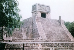Pyramid at Santa Cecilia Acatitlán