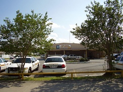 South Houston police station/Robert A. Anderson Police Administration Building (rear entrance)