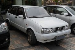 Nanjing Yuejin Soyat, a rebadged SEAT Ibiza Mk1 for the Chinese market