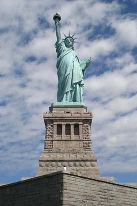 For many immigrants, the Statue of Liberty was their first view of the United States. It signified new opportunities in life and thus the statue is an iconic symbol of the American Dream.