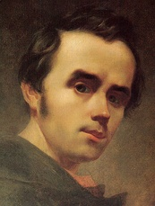 Taras Shevchenko self-portrait