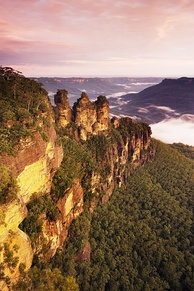Three Sisters in the Blue Mountains National Park