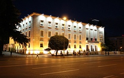 Kryeministria, the official workplace of the Prime Minister of Albania