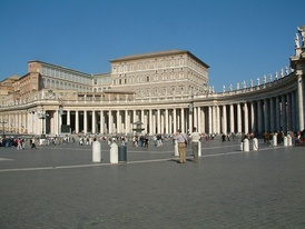 The Apostolic Palace.