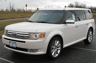 2009-2012 Ford Flex front