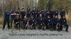 Tanana Chiefs Fire Crew in 2019