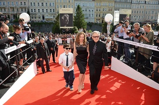 Actor Harvey Keitel at the 50th Karlovy Vary IFF (2015)