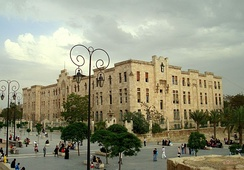 Grand Serail d'Alep, originally planned to become the seat of the government of the short-lived State of Aleppo