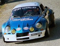 Renault Alpine A110, first Champion of the World Rally Championship.