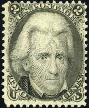 Andrew JacksonIssue of 1863