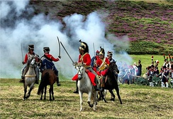 Re-enactment of the Battle of Corunna