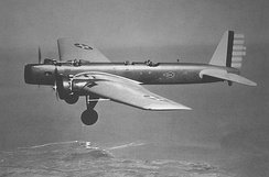 """Gear down"" test flight of the Boeing Y1B-9 bomber in 1932. At the time it was faster than any existing pursuit plane."