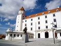 Main entrance of the Bratislava Castle