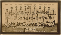 Brooklyn Dodgers Team Photograph, 1913