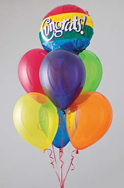 Balloons are given for special occasions, such as birthdays or holidays, and are often used as party décor.