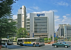 Discovery and buses in Silver Spring.jpg