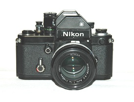 Nikon F2s using the DP-2 viewfinder