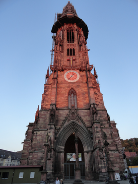 The Freiburger Minster: one of Freiburg's most famous landmarks