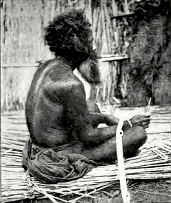 John Batchelor took a picture of this Ainu man, who Batchelor said had hair completely covering his body.