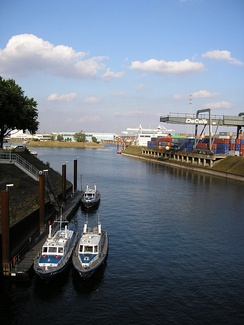 Duisburg Inner Harbour, the world's largest inland port