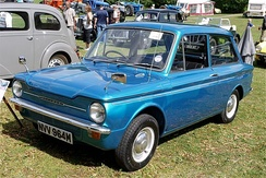 The rear-engine Hillman Imp never caught on with the buying public.