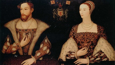 Mary of Guise and her second husband, King James V of Scotland