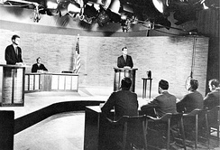 Second of the four Kennedy and Nixon debates, which took place at WRC-TV in Washington, D.C. on October 7, 1960[33]
