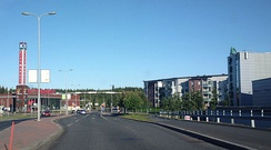 Linnainmaa, an urban district in the city of Tampere, Finland