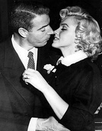 January 14: Marilyn weds DiMaggio.