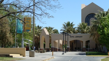 Zuhl Library at New Mexico State University