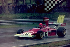 Lauda at the 1974 Race of Champions