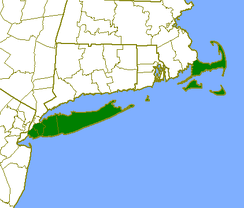 "The ""Outer Lands"" coloured in green."