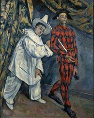Paul Cézanne: Mardi gras (Pierrot and Harlequin), 1888, Pushkin Museum, Moscow