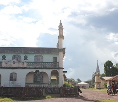 Mosque and church in Sierra Leone