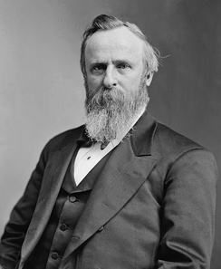 Rutherford B. Hayes defeated Tilden in the 1876 election.