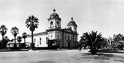 Mission Santa Clara de Asis prior to the 1925 fire