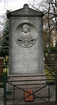 His grave in Berlin