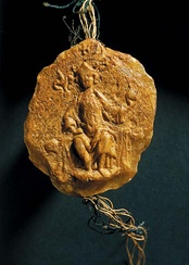 The only surviving Seal of Mindaugas from 1255