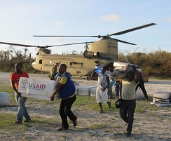 Service members from Joint Task Force Matthew and representatives from the United States Agency of International Development delivered relief supplies to areas affected by Hurricane Matthew to Jeremie, Haiti