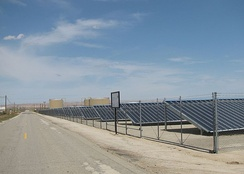 Chevron's 500kW Solarmine photovoltaic solar project in Fellows, California