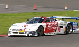 One of the first SE86 chassis, which ran under the name Pontiac Fiero GTP
