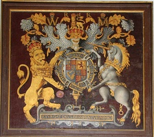 The Royal Arms as used by the House of Stuart (these being of William III and Mary II (1688-1694/1702))