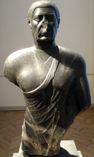 Ptolemaic Era bust of a man, circa 300–250 BC, Altes Museum