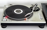 Direct-drive turntable: Technics SL-1200 (introduced in 1972)