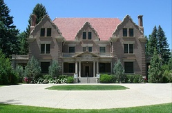 Trail End, completed in 1913, is located in Sheridan, Wyoming. Known locally as the Kendrick Mansion, it was the home of John B. Kendrick and his family. It is now a house museum operated by the Wyoming Department of State Parks and Cultural Resources